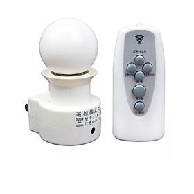 Đui đèn điều khiển từ xa bằng remote GG24h