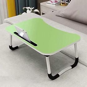 Bàn gấp di động - Bàn học, bàn làm việc đa năng (kt 60x40x28cm)