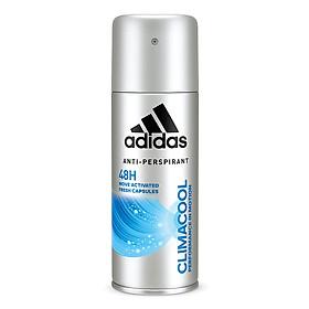 Xịt Khử Mùi Toàn Thân Nam Ngăn Mồ Hôi Adidas Climacool 150ml