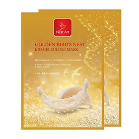Combo 2 Mặt Nạ Yến Vàng Nest Art Bio Cellulose Mask 25ml/miếng