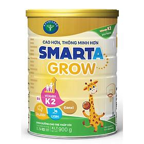Sữa bột Nutricare Smarta GROW (900g) - hỗ trợ tăng chiều cao phát triển não bộ