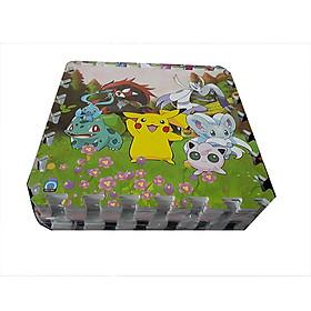 Combo 9 tấm thảm tranh xốp ghép, in hình con thú ngộ nghĩnh trong truyện tranh( giao hình ngẫu nhiên), kích thước 1 tấm 40cm x 40cm x1cm