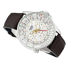 Đồng hồ nam dây da CASIO MTP-SW320L-7AVDF