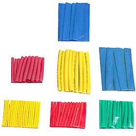 Bộ 100 ống gen co nhiệt cách điện nhiều màu đủ size
