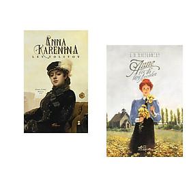 Combo 2 cuốn sách: Anna Karenina  tập 2 + Anne tóc đỏ làng Avonlea