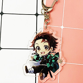 Móc khóa mica trong anime Kimetsu no Yaiba Thanh gươm diệt quỷ ver 1