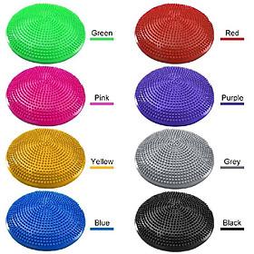 33CM Yoga Balance Disc Inflatable Stability Wobble Cushion Free Hand Pump-1
