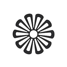 Lót nồi silicon hình hoa cúc cỡ 16cm Zone Denmark