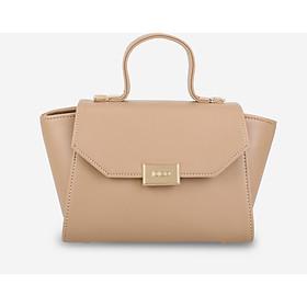 Túi xách tay & đeo chéo nữ nắp gập khóa kim loại thanh lịch IDIGO FB2-4101-00