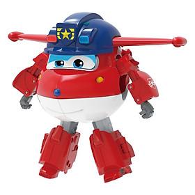 Đồ Chơi Robot Biến Hình Máy Bay Cỡ Lớn - Jett Team Cảnh Sát SUPERWINGS EU730231