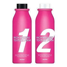 Uốn thảo dược đa năng colazen uốn nóng và uốn lạnh dùng cho tóc thường và tóc khỏe mugens rich volume texture perm 2 X 500ml