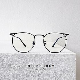 Kính Giả Cận, Gọng Kính Cận Nam Nữ Mắt Vuông Gọng Đen Không Độ Hàn Quốc - BLUE LIGHT SHOP