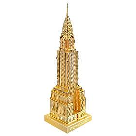 Mô hình lắp ráp kim loại Piececool P005-G - Tòa nhà Chrysler New York