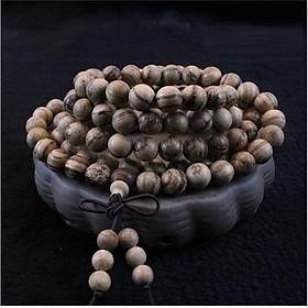 Vòng tay trầm hương 108 hạt 8 ly nam nữ