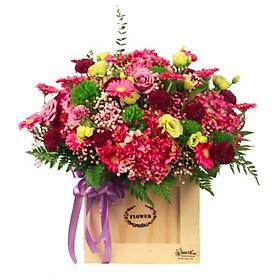 Hộp hoa tươi - Tinh Vi Và Sành Điệu Mã 4175