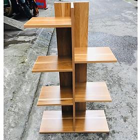 Kệ giá đỡ chậu hoa cây cảnh, chất liệu bằng gỗ MDF, hàng lắp ráp thông minh, đa năng, gồm 4 màu đẹp hiện đại