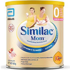 Sữa Bột Similac Mom Hương Sữa Chua Dâu (400g)