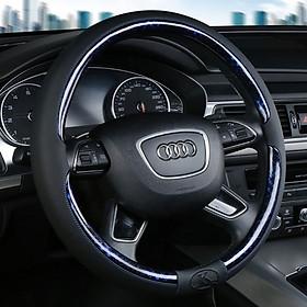 Bọc vô lăng chính hãng Kisama - chất liệu da cao cấp cho ô tô - Mẫu mới 2021