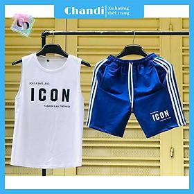 Đồ Bộ Thể Thao Nam thương hiệu Chandi, Đồ Bộ Mặc Nhà chất liệu thun cao cấp mát mẻ, thấm hút mồ hôi tốt MS901