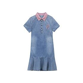 Đầm Jean Cổ Hồng Sơ Mi Đuôi Cá - TP1823