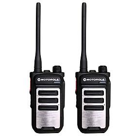 Bộ 2 Máy Bộ Đàm Motorola CP282 + 2 Tai Nghe - Hàng Chính Hãng