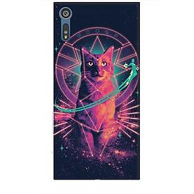 Ốp lưng dành cho điện thoại SONY XZ Mèo Phép Thuật