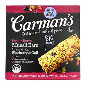 Bánh Ngũ Cốc Yến Mạch & Quả Mọng Carman'S (270g)