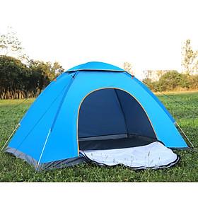 Lều trại du lịch tự bung 1 cửa có lớp màn chống muỗi BS