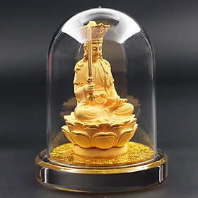 Tượng Phật Bản Mệnh Văn Thù Bồ Tát Cát Vàng 24k - KIOJ