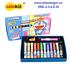 Sáp dầu 12 màu Colokit Doraemon OP-C07/DO