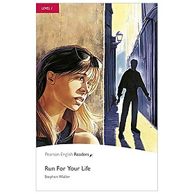 Level 1: Run For Your Life Book and CD Pack (Pearson English Graded Readers)