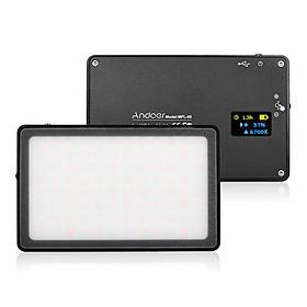 Bảng Đèn LED Mini Andoer MFL-05 Có Thể Điều Chỉnh Độ Sáng Cho Máy Ảnh DSLR Canon - Đen (3500K-5700K) (96 Led)