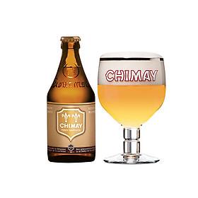 Thùng 24 chai bia Chimay Doree Gold (330ml)