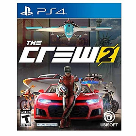 Đĩa game PS4: The Crew 2