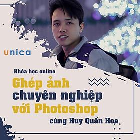 Khóa học THIẾT KẾ - ĐỒ HỌA - Ghép ảnh chuyên nghiệp với Photoshop- Mai Xuân Huy