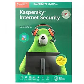 Phần mềm Kaspersky Internet 5PC 1 năm - Hàng chính hãng