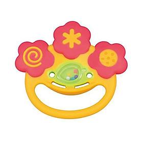 Chuông xúc xắc gặm nướu hình mặt cười Toyroyal Nhật Bản