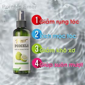 Nước xịt tinh dầu bưởi kích thích mọc tóc Pomelo 100ml giúp giảm rụng tóc, cho mái tóc dày và dài hơn