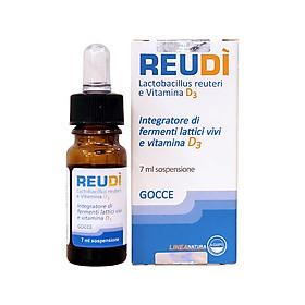 Men vi sinh REUDÌ có bổ sung vitamin D3 nhập khẩu Ý