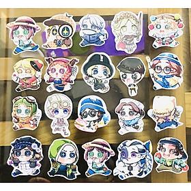Sticker ảnh dán Identity V set 50 cái nhiều mẫu ( giao ngẫu nhiên )