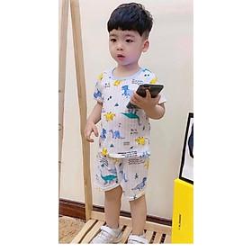 Bộ Cotton giấy trẻ em, Thông hơi mặc cực mát có nhiều hình cho bé trai và gái - hot mùa hè 2020