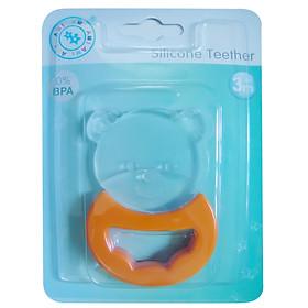 Bộ 2 sản phẩm ngậm nướu hình gấu, ếch cho bé. AM22501 Thái Lan.