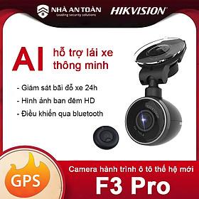 Camera hành trình ô tô Hikvision F3 Pro hàng chính hãng Nhà An Toàn