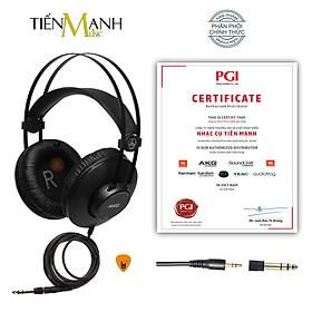 [Chính Hãng Mỹ] Tai Nghe Kiểm Âm AKG K52 Over-Ear Studio Monitor Headphones Professional - Kèm Móng Gẩy DreamMaker