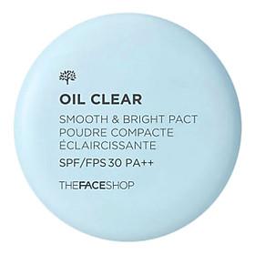 Phấn Nén Kiềm Dầu The Face Shop Oil Clear Smooth & Bright 9g