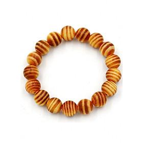 Vòng tay chuỗi hạt gỗ Huyết rồng 10 ly 17 hạt
