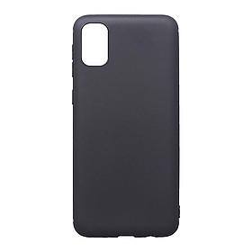 Ốp lưng silicon dẻo màu đen cao cấp cho Samsung A51