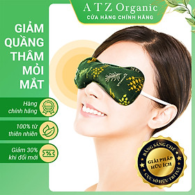 Túi Chườm Mắt Thảo Dược - ATZ Organic - Nóng Lạnh Đa Năng - Giảm Đau Đầu, Nhức Mỏi Mắt