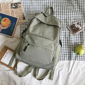 Balo Nam Nữ Đi Học Tudu, Ba Lô Nữ Hàn Quốc, Vải Dù Trượt Nước, Đựng Vừa A4 Và Laptop 15inch CN165