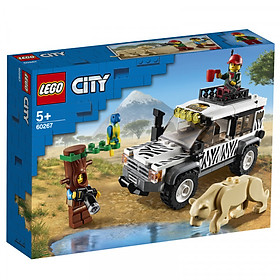 Mô hình đồ chơi lắp ráp LEGO CITY  Xe Địa Hình Safari 60267 ( 168 Chi tiết )